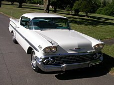 1958 Chevrolet Impala Coupe for sale 101009123