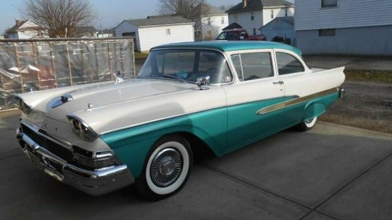 1958 ford custom for sale near cadillac michigan 49601 classics on autotrader. Black Bedroom Furniture Sets. Home Design Ideas