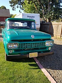 1958 Ford F100 2WD Regular Cab for sale 101032749