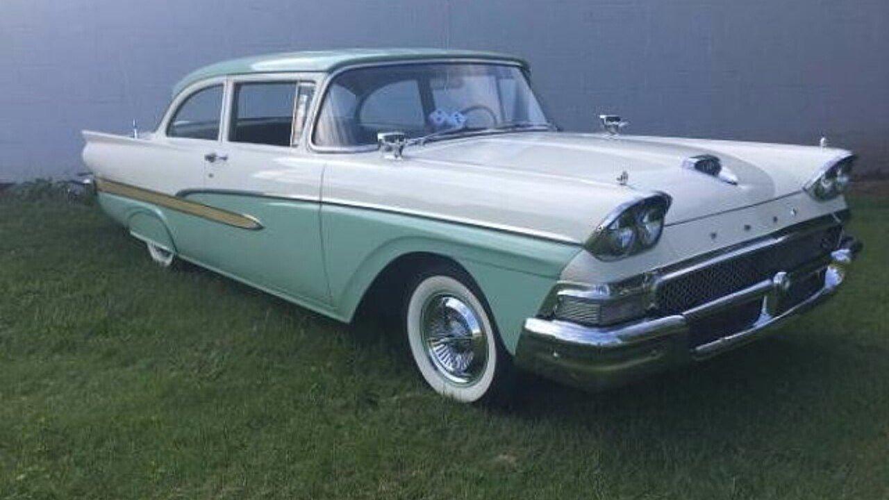 1958 Ford Fairlane For Sale Near Cadillac Michigan 49601