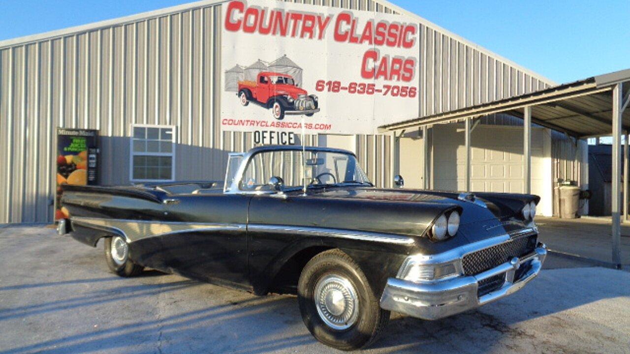 1958 Ford Fairlane for sale near Staunton, Illinois 62088 ...