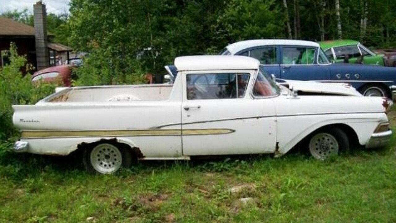 1958 Ford Ranchero for sale 100892470
