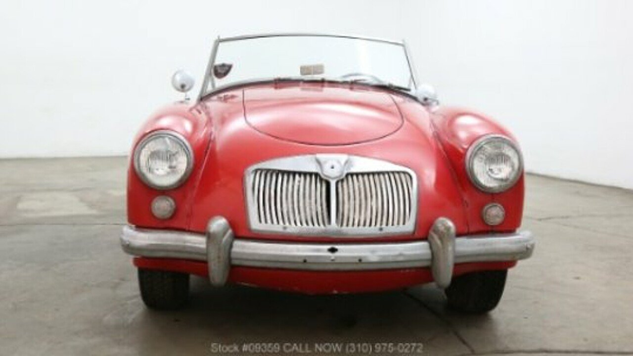 1958 MG MGA for sale near Los Angeles, California 90063 - Classics ...