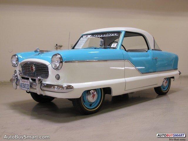 Nash Metropolitan Classic Cars For Sale Classics On