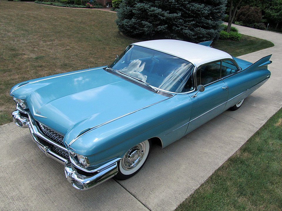 1959 cadillac de ville for sale near norwalk ohio 44857. Black Bedroom Furniture Sets. Home Design Ideas