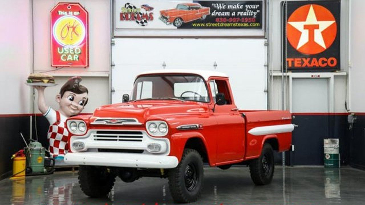 1959 Chevrolet Apache for sale near Fredericksburg, Texas 78624 ...