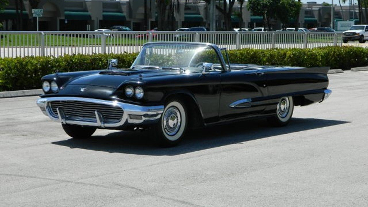 1959 Ford Thunderbird for sale near Fort Lauderdale, Florida 33309 ...