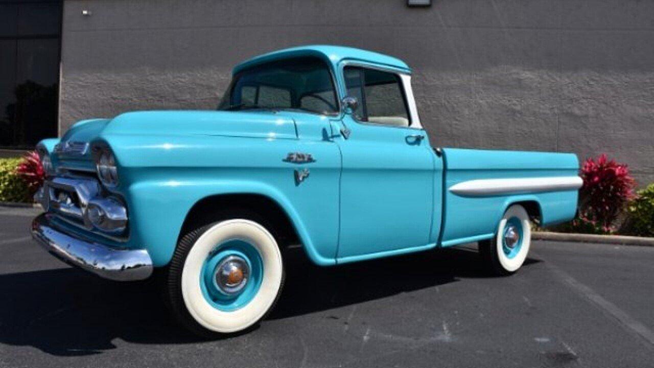 1959 GMC Pickup for sale near Venice, Florida 34293 - Classics on ...