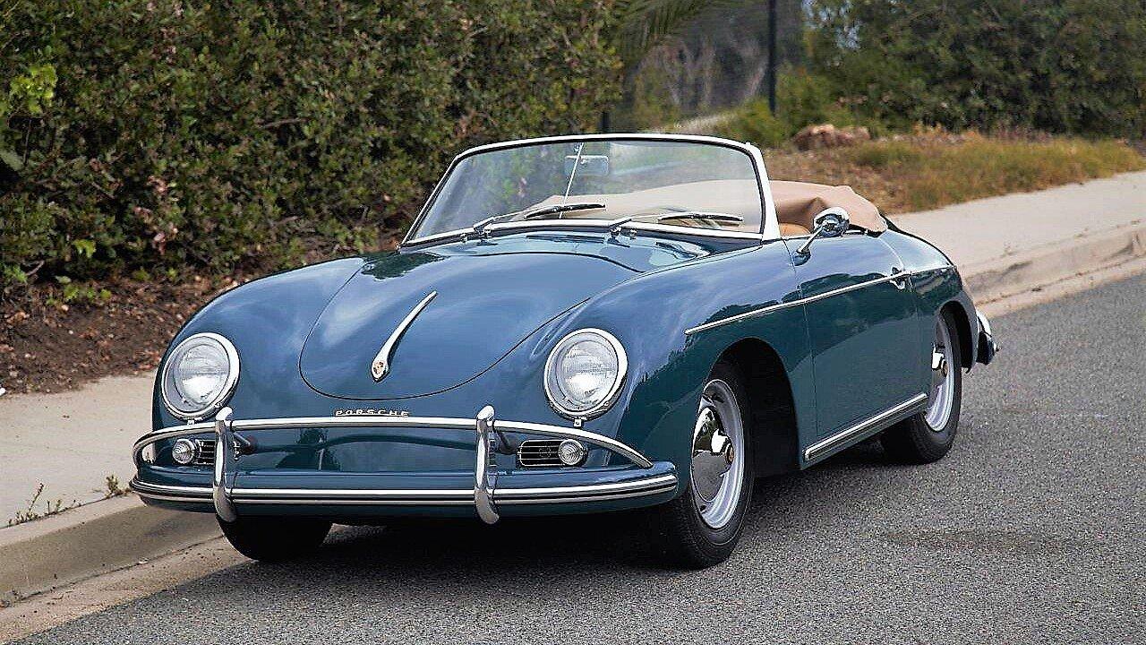 1959 porsche 356 a speedster for sale near la jolla california 92037 classics on autotrader. Black Bedroom Furniture Sets. Home Design Ideas