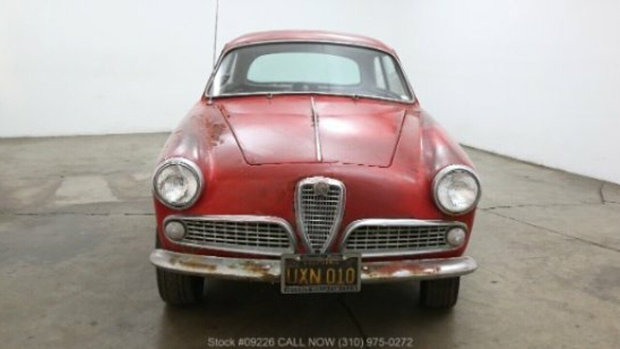 Alfa Romeo Giulietta For Sale Near Los Angeles California - Alfa romeo giulietta 1960 for sale