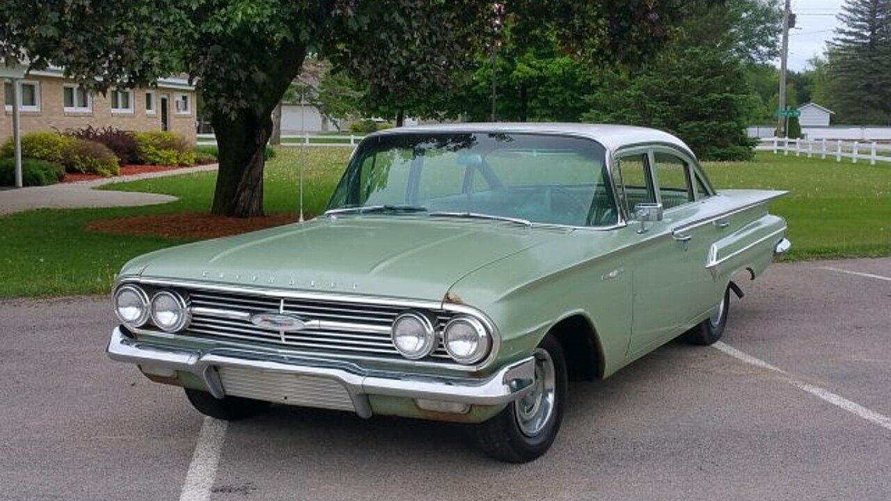 1960 chevrolet bel air for sale near silver creek. Black Bedroom Furniture Sets. Home Design Ideas