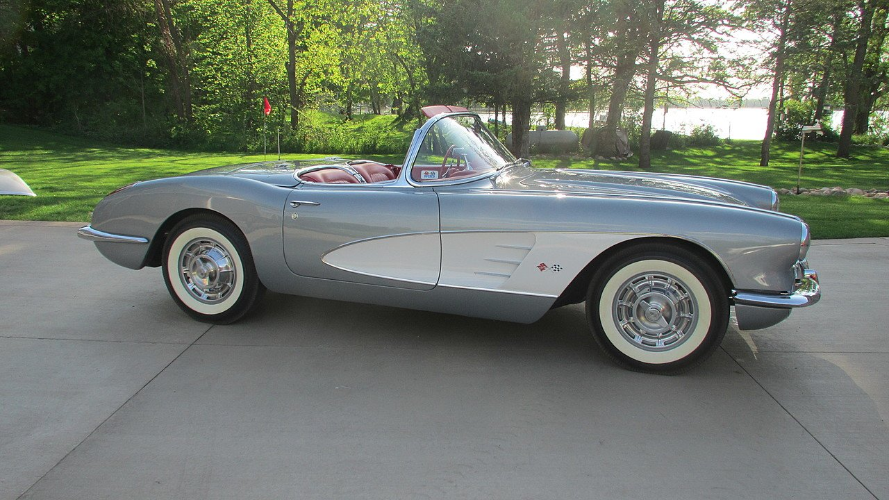 1960 Chevrolet Corvette Coupe for sale 100872506
