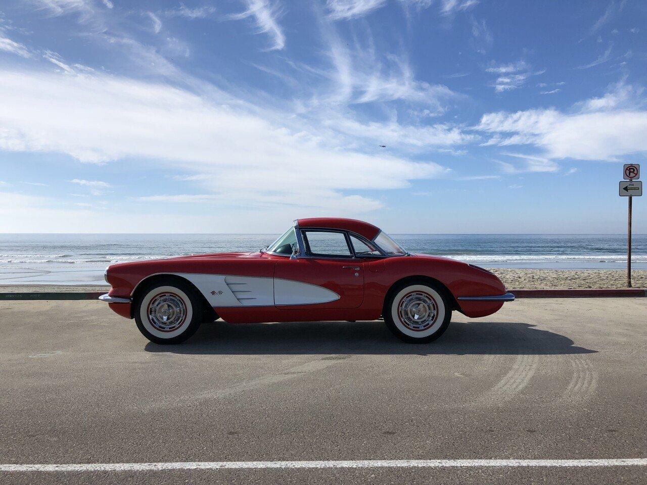 Classic Cars For Sale California Usa: 1960 Chevrolet Corvette Convertible For Sale Near San