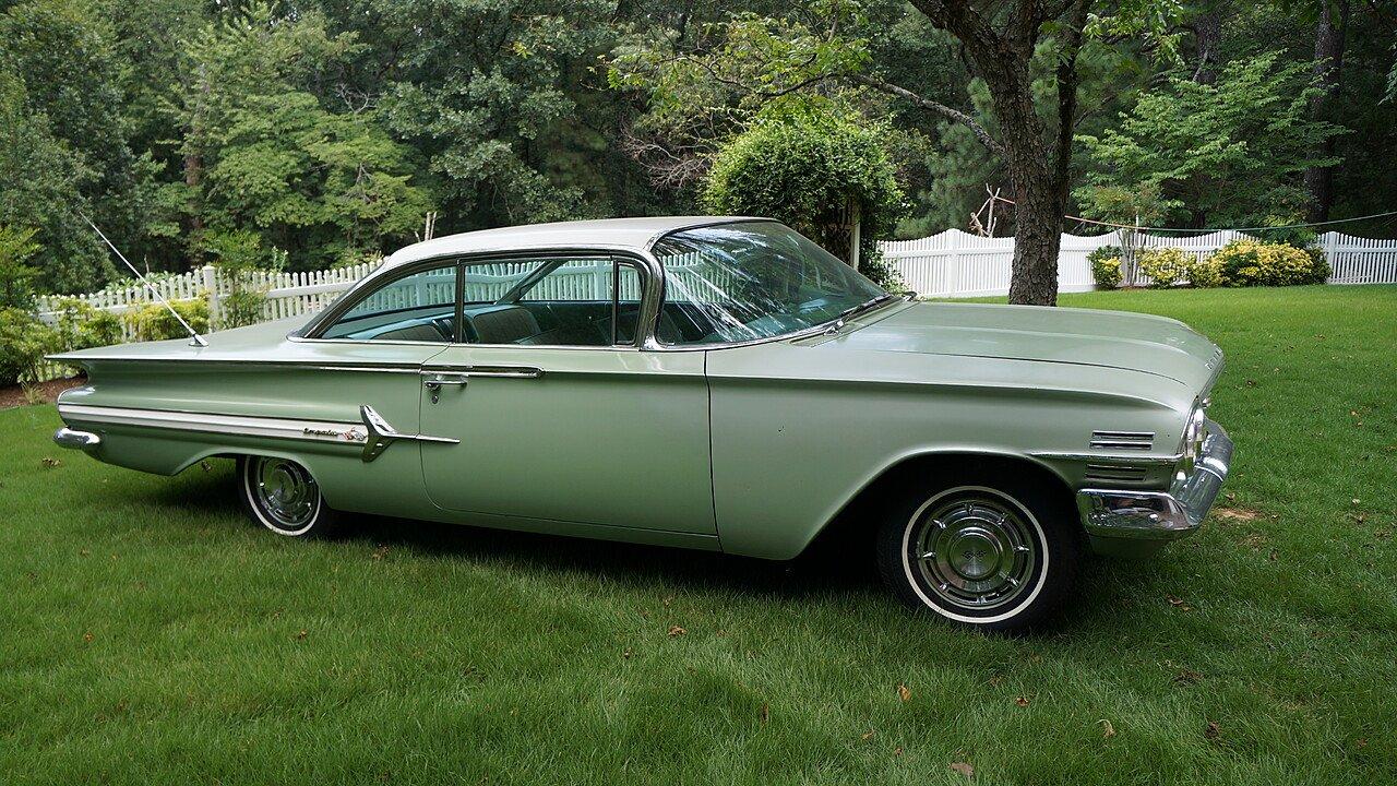 1960 Chevrolet Impala For Sale Near Decatur, Alabama 35603