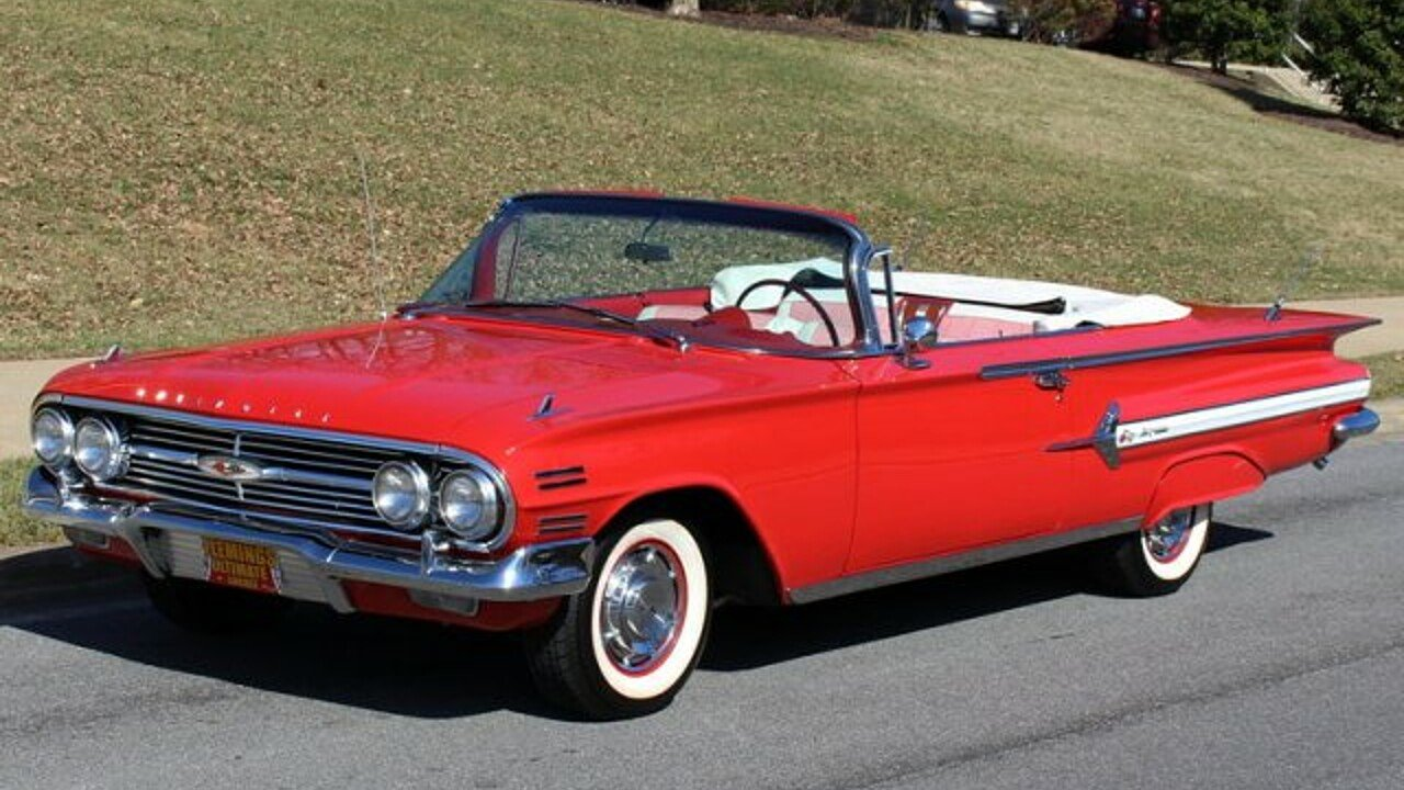 1960 Chevrolet Impala for sale near Rockville, Maryland 28050 ...