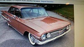 1960 Chevrolet Impala for sale 100947482