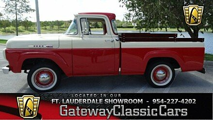 1960 Ford F100 for sale 100777201