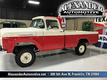 Ford f100 classics for sale classics on autotrader for Alexander motors jackson tennessee