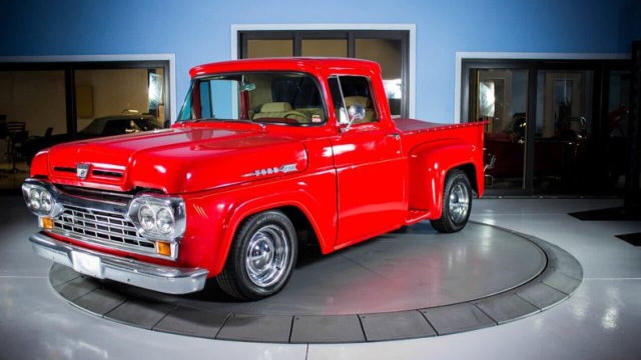 1960 Ford F100 for sale near Palmetto, Florida 34221 - Classics on ...