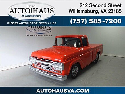 1960 Ford F100 for sale 100916682
