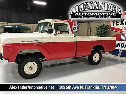 1960 Ford F100 for sale 100987993