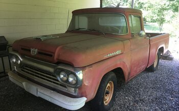 1960 Ford F100 2WD Regular Cab for sale 101001236
