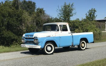1960 Ford F100 2WD Regular Cab for sale 101056561