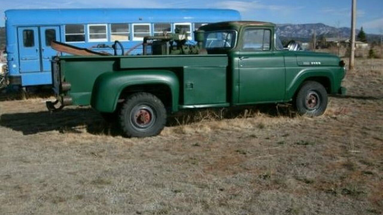 Ford F350 Classics For Sale On Autotrader 1954 Chevy Crew Cab 1960 100873906