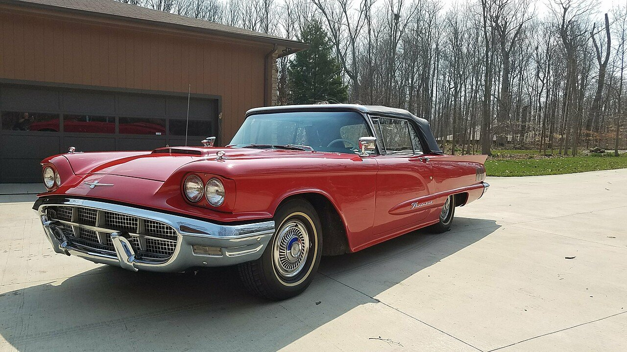 1960 Ford Thunderbird for sale near Dublin, Ohio 43017 - Classics on ...