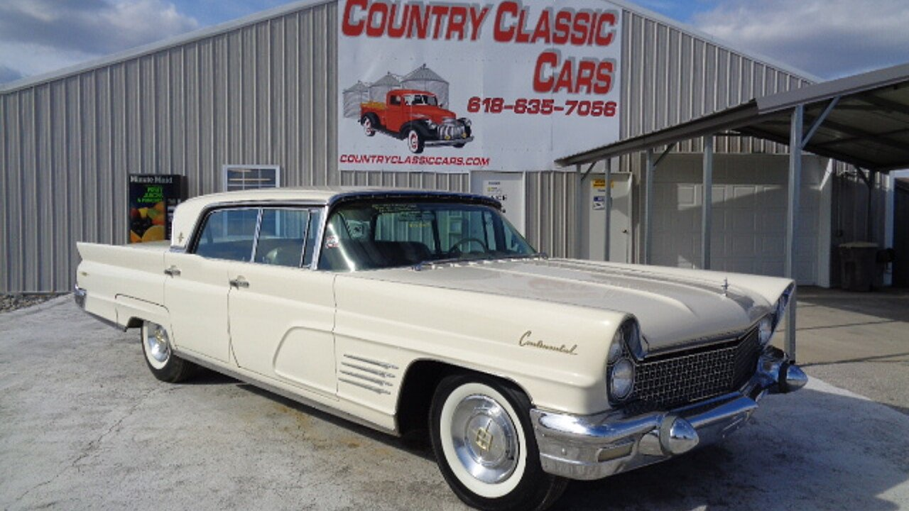 1960 Lincoln Continental for sale near Staunton, Illinois 62088 ...