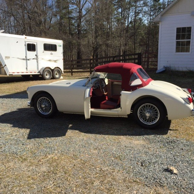 1960 MG MGA Import Classics Car 100887542 f3b68d8446db2e856d5b47052d7ec5ce?w=1280&h=720&r=thumbnail&s=1 1960 mg mga for sale near keysville, virginia 23947 classics on mga wiring harness for sale at alyssarenee.co