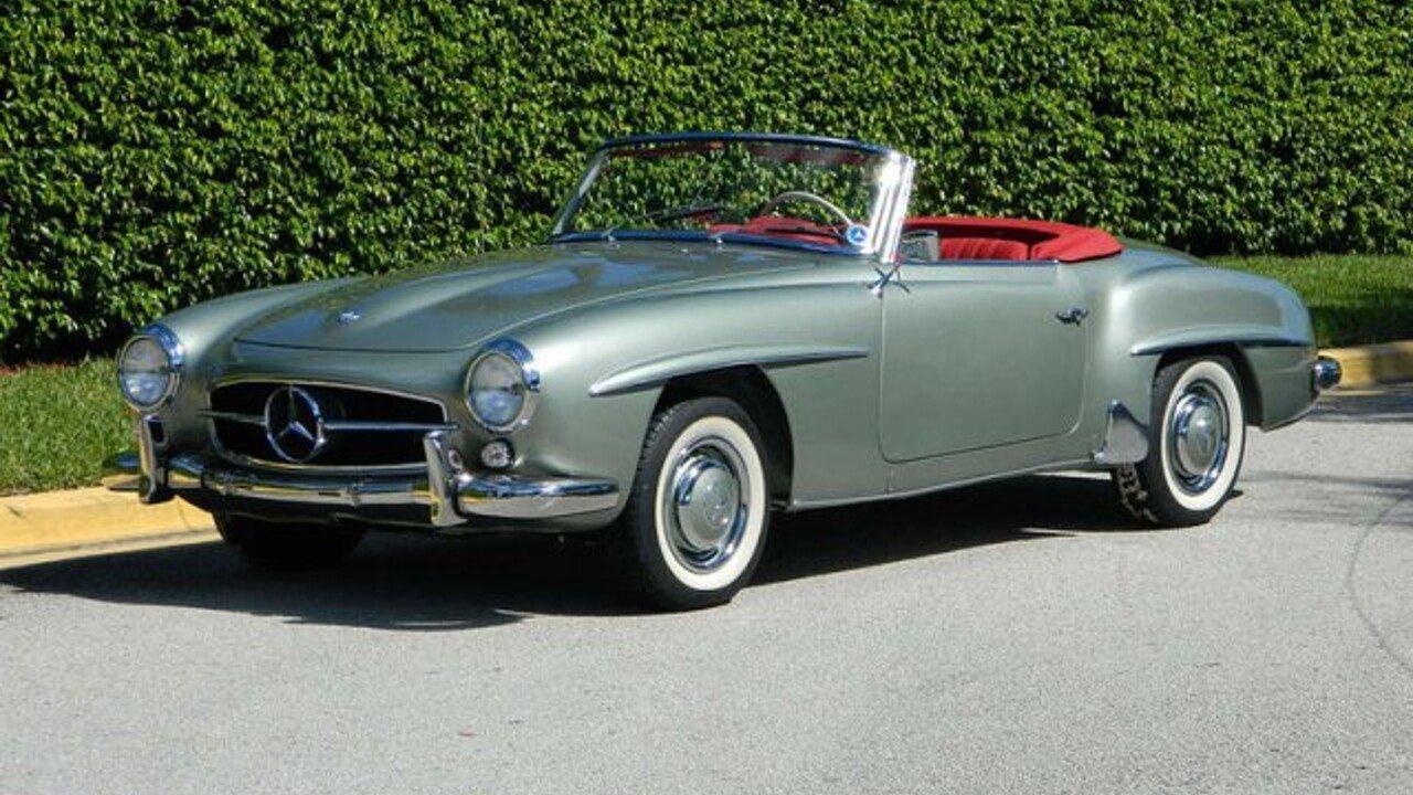 1960 Mercedes-Benz 190SL for sale near Fort Lauderdale, Florida ...