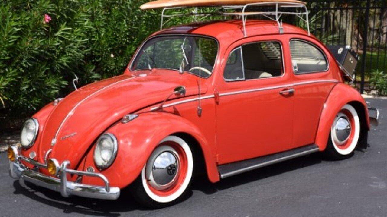 1960 Volkswagen Beetle for sale near Venice, Florida 34293 ...