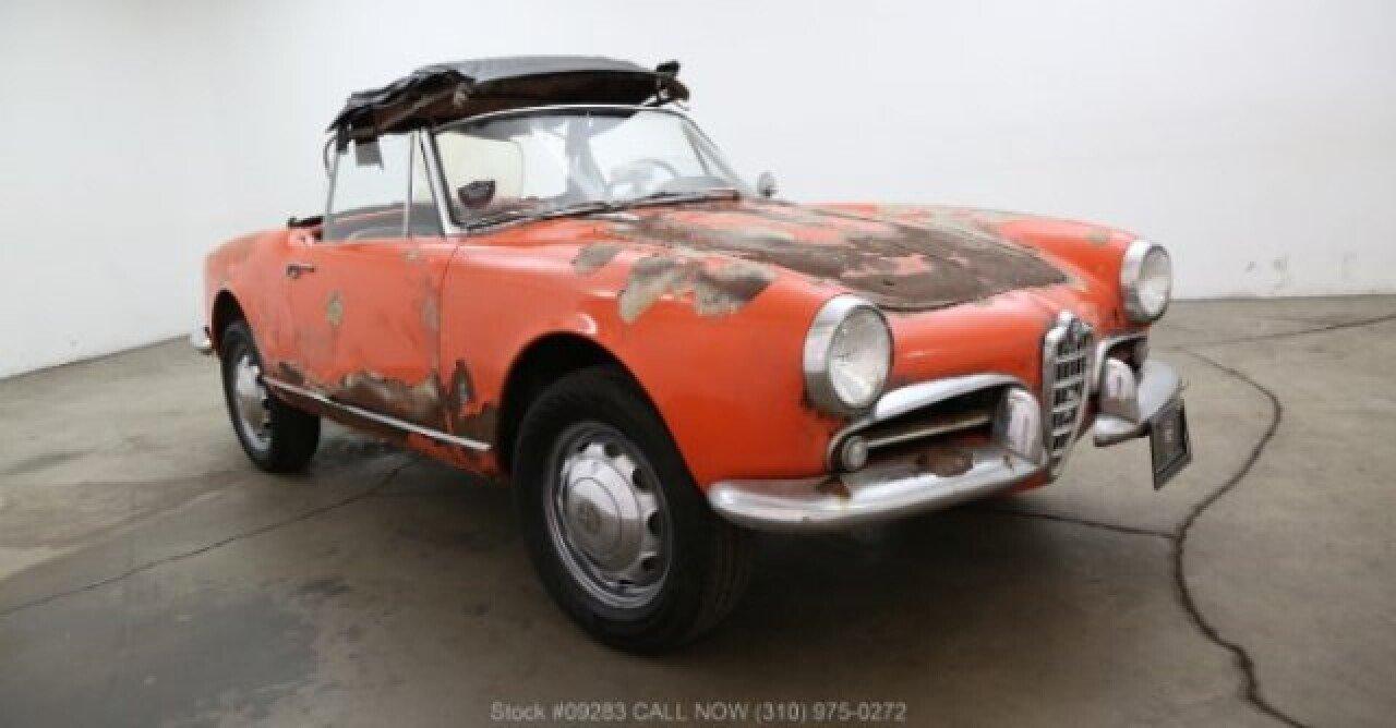 1961 alfa romeo giulietta for sale near los angeles, california