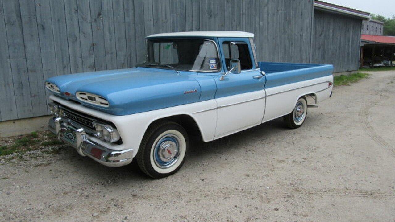 1961 Chevrolet Apache For Sale Near Freeport Maine 04032 Classics Pick Up 101009358