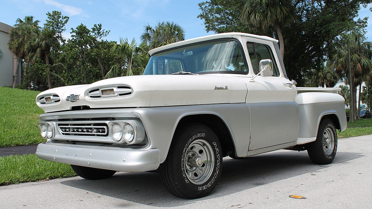1961 Chevrolet C K Truck 2wd Regular Cab 2500 For Sale Near Fort Chevy Apache Pickup 100927565