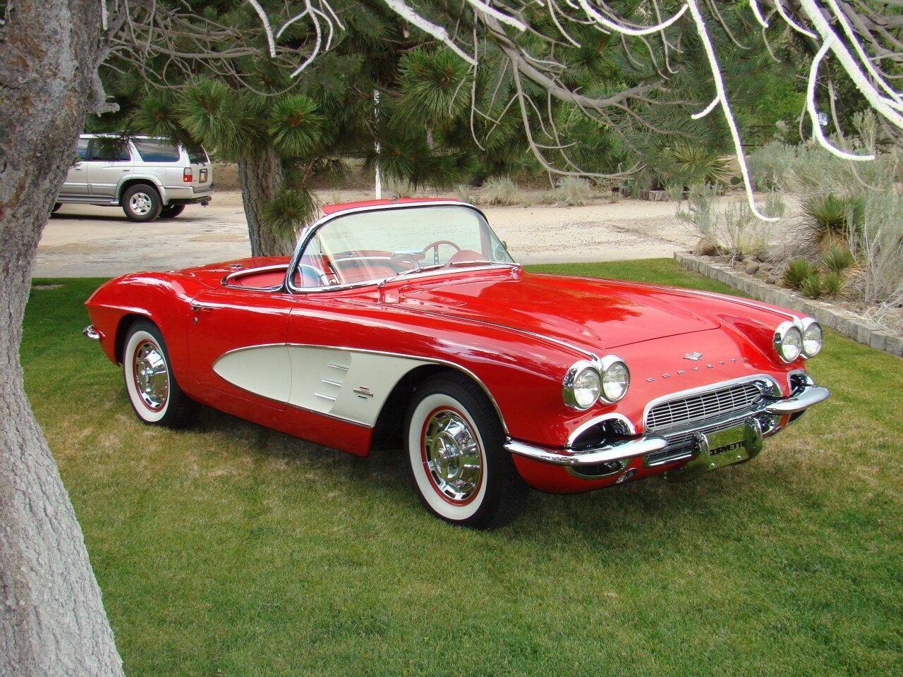 Classic Cars For Sale Auto Trader Com: 1961 Chevrolet Corvette Convertible For Sale Near