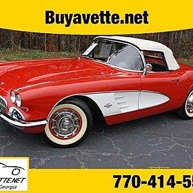 1961 Chevrolet Corvette for sale 100821505