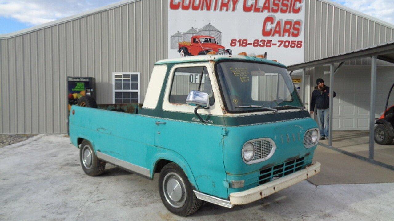 1961 Ford E 150 And Econoline For Sale Near Staunton Illinois Pickup Truck 100953037
