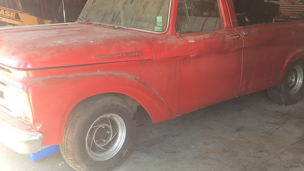 1961 Ford F100 for sale 101006995