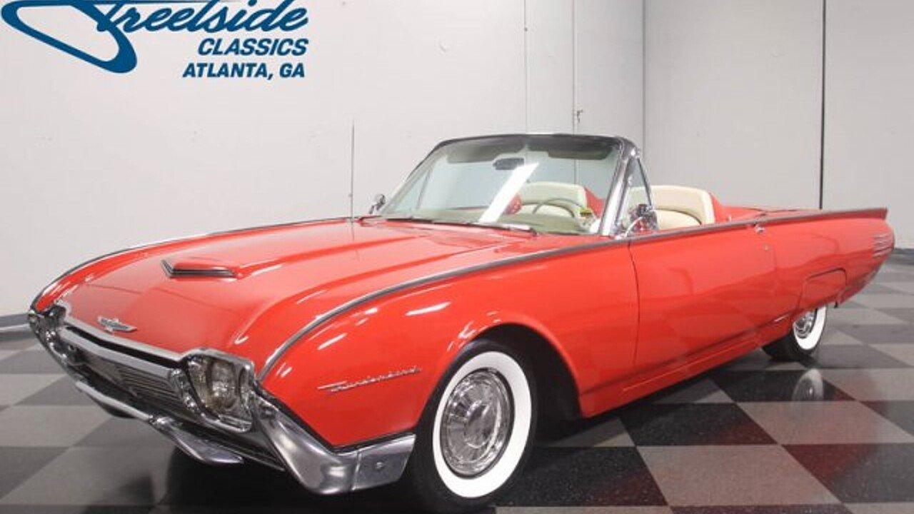 1961 Ford Thunderbird for sale near Lithia Springs, Georgia 30122 ...