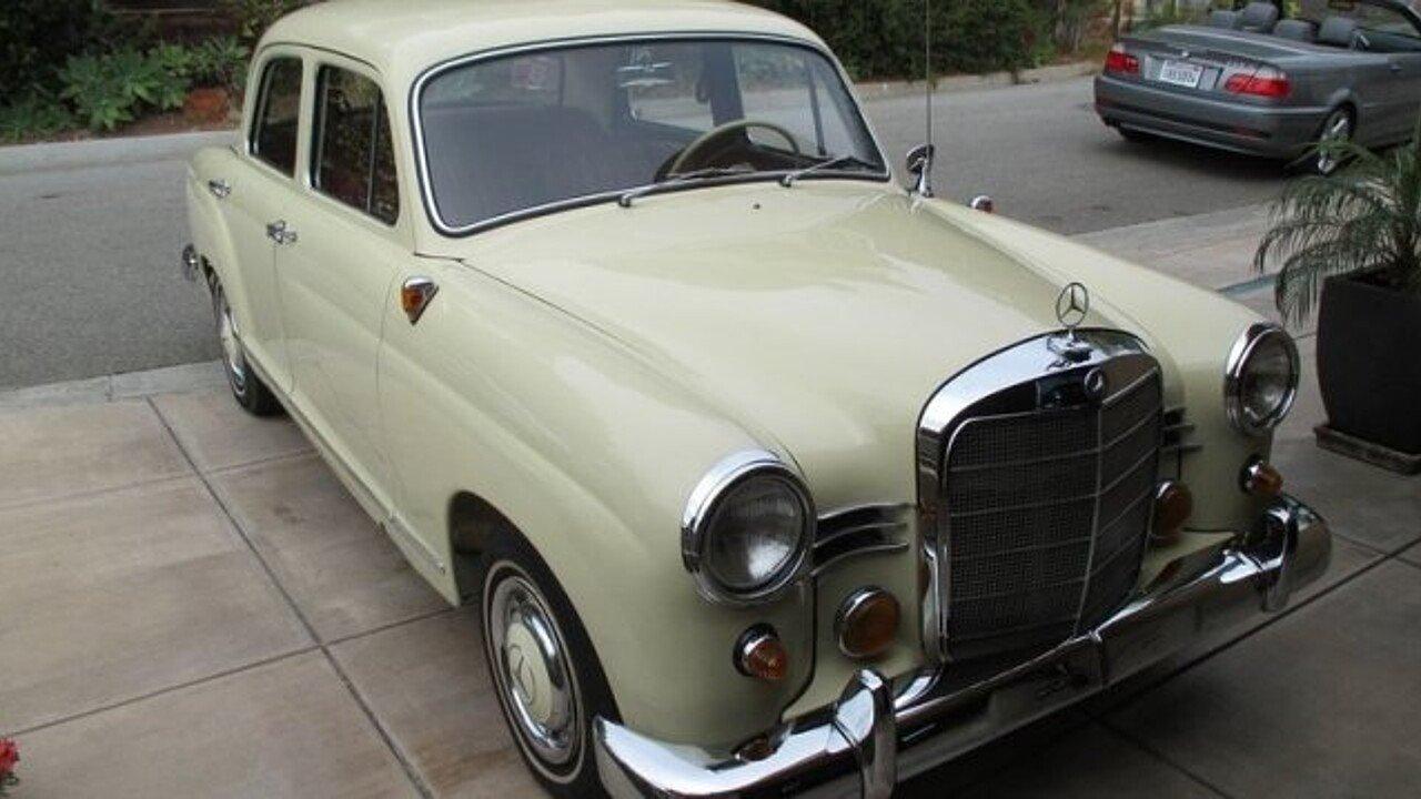1961 Mercedes-Benz 180B for sale near Laguna Beach, California 92651 ...