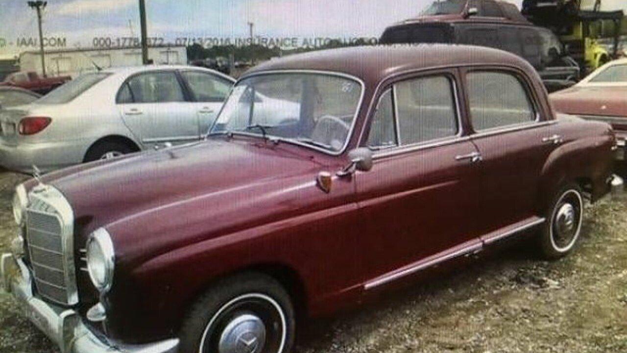 1961 Mercedes-Benz 190DB for sale near Cadillac, Michigan 49601 ...