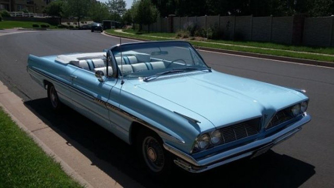 1961 Pontiac Bonneville for sale 101045724