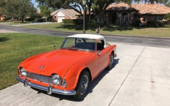 1961 Triumph TR4 for sale 100843279