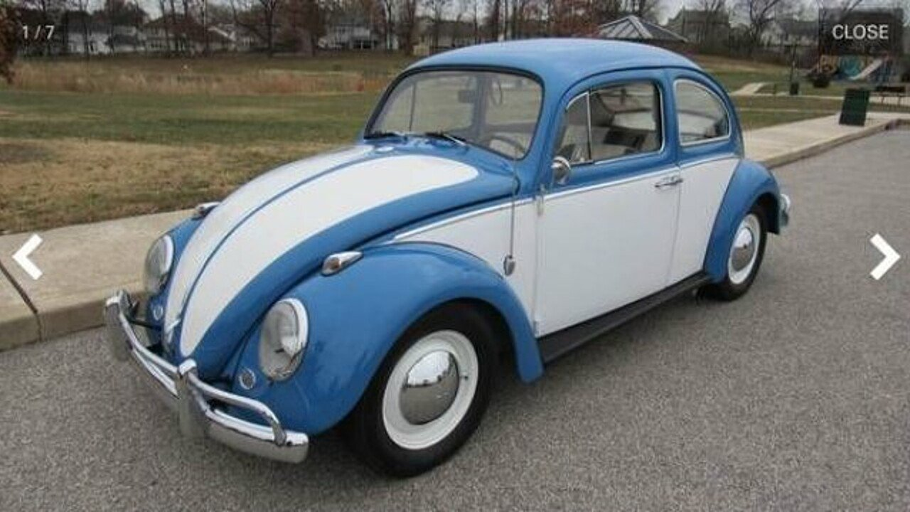 1961 Volkswagen Beetle for sale 100842678