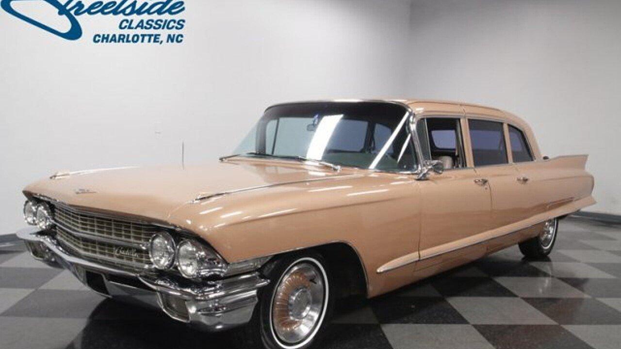 1962 Cadillac Fleetwood for sale near Concord, North Carolina ...