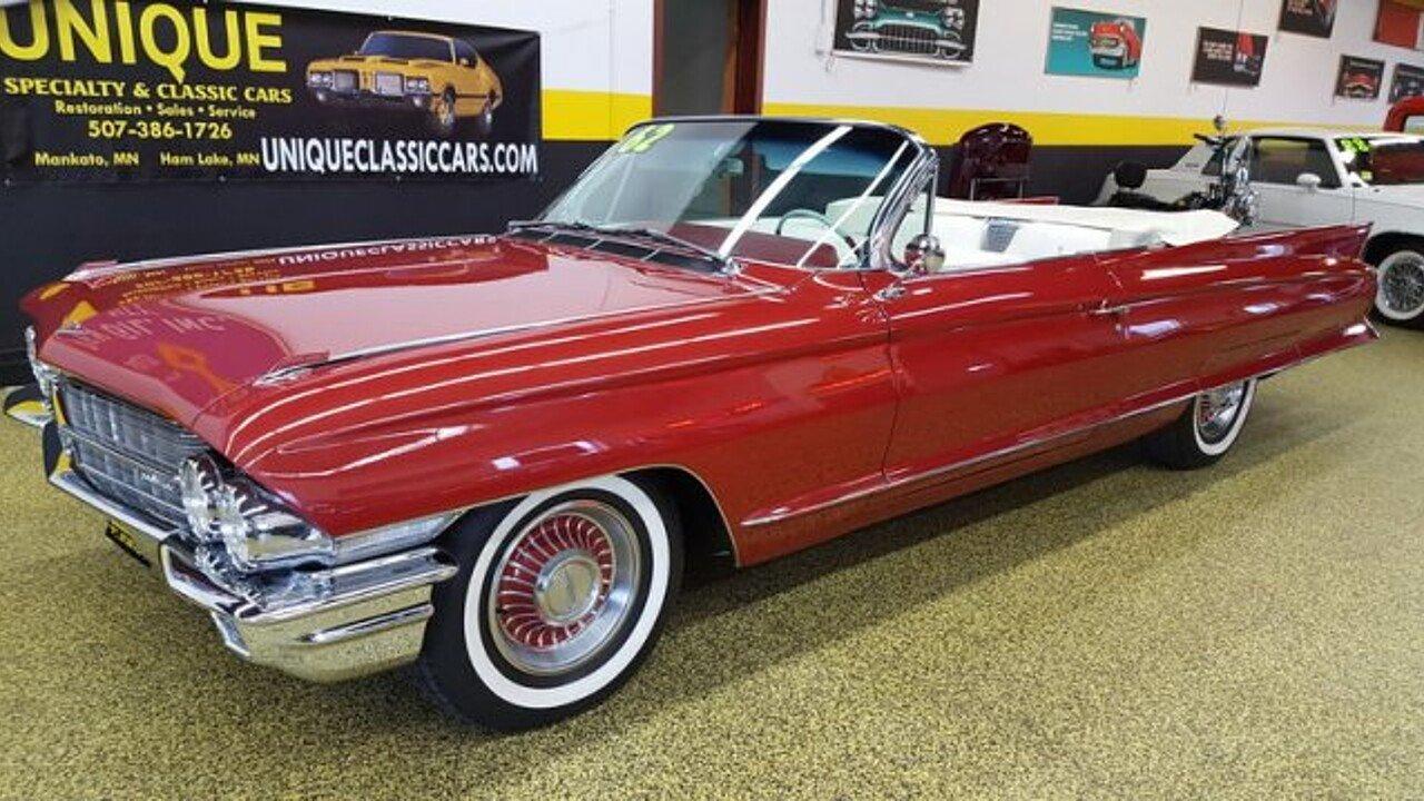 1962 Cadillac Series 62 for sale near Mankato, Minnesota 56001 ...