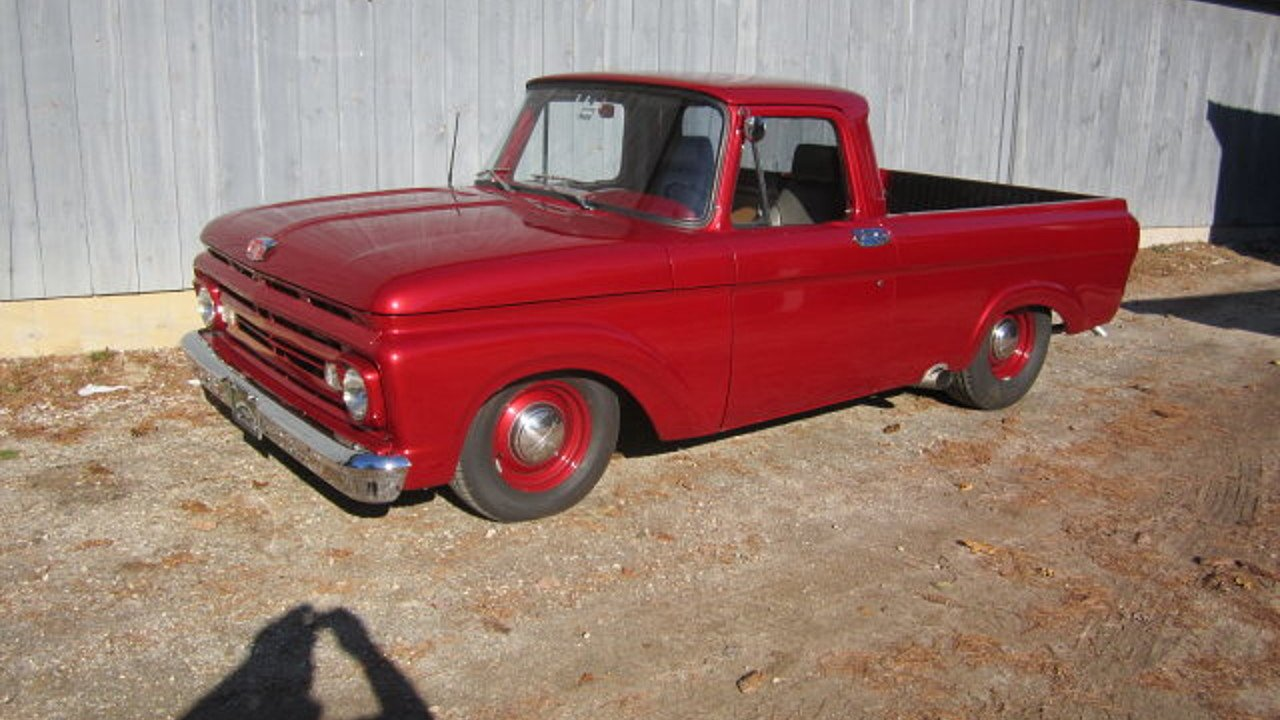 1962 Ford F100 Classics For Sale On Autotrader 1969 302 Engine 100889873