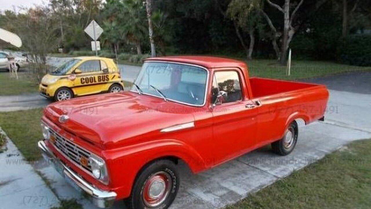 1962 Ford F100 For Sale Near Cadillac Michigan 49601 Classics On 1955 Value 100826749